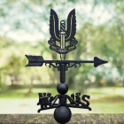 Special Air Service Regiment Weathervane Created From Cast Iron