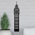 Big Ben Wall Art on the Wall Next to Plants