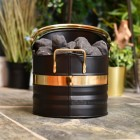 Black and Brass Warwick Coal Hod