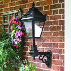 Black Ashington Deluxe Victorian Wall Light