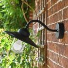 Black Barn Yard Outdoor Wall Light