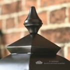 Black Decorative Lantern Finial