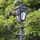 Black Dorchester Lamp Post & Lantern Set 2.3m