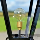 Edison Screw Fix Bulb Holder (available Upon Request)