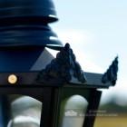 Black Hexagonal Lantern Lantern Decorations