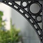 Black Ironbridge Shelf Bracket Close Up