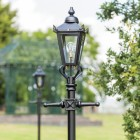Victorian Lamp Post - Black 2.3m