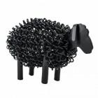 Black Wire Sheep Sculpture