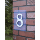 Suspended House Numbers Triple