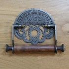 """Borough of London"" Ornate Toilet Roll Holder Created From Iron"