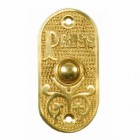 Polished Brass Exterior Bell Push