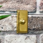 Solid Brass door chime Bell Push on wall