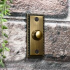 Traditional door bell with Georgian beading on border