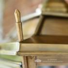 Brass Dorchester lantern - corner finial