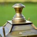 Finial on the Lid of the Brass Lantern
