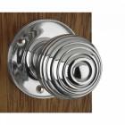 Chrome Beehive Door Knobs