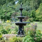 3 Tier Ornate Water Fountain Finished in Bronze