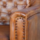 Close-up of the arms on the Chair