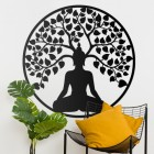 """Buddha Tree"" Wall Art in Situ in the Home"