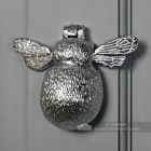 Bumble Bee Door Knocker In A Chrome Finish