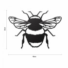 Bumble Bee Wall Art Dimensions