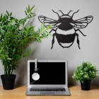 Bumble Bee Wall Art  in Situ in the Office