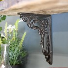 "Ornate ""Victorian Amalina"" Scroll Bracket Created From Cast Iron"