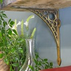 Iron Bridge Small Antique Brass Finish - Small 22 x 22cm