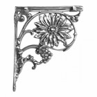 Sunflower Wall bracket - Finished in Bright Chrome