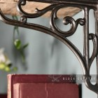 Ornate Shelf Brackets Finished In A Natural Iron