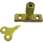 Casement Stay Locking Pin electro plate