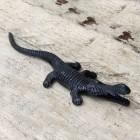 Cast Iron Alligator Match Holder
