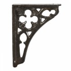 Black Cast Iron Coalbrookdale Shelf Bracket