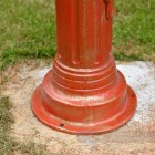 Cast Iron Lamp Post Base Plate
