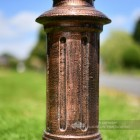 Cast Iron Lamp Post Column In A Vintage Copper Wash