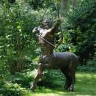 Centaur Garden Sculpture Finished in Bronze