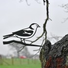 Chaffinch Tree Spike Finished in a Black Finish