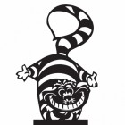 Cheshire Cat Weathervane Top