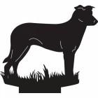 Chinook Dog Weathervane