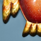 Close-up of the Metallic Finish