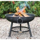 Classic Fire Pit Created from Steel