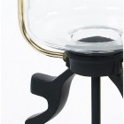 """Close-up o fthe Curved Glass in the """"Belgravia"""" Extra Large Lamp Post & Lantern"""