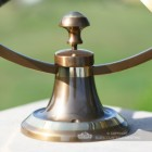 Close-up of the Base on the Armillary
