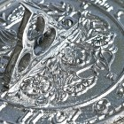 Close-up of the Detail on the Sundial