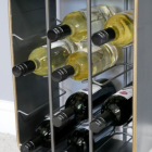 Close-up of the Wine Bottle Holders