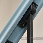 Close Up Of Stair Spindle mounting Bracket