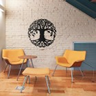 Tree of Life Wall Art in Situ in the Sitting Room