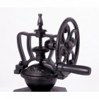 """Café Coeur"" Cast iron and wood coffee grinder"