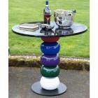 """Windsor Wonderland"" Colourful Designer Garden Table and Chair"