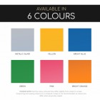 Colours available